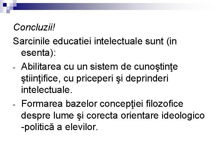 viziune intelectuală