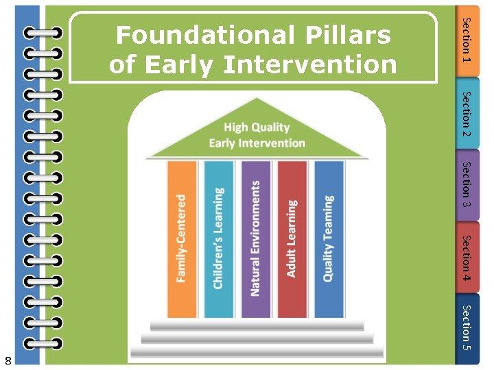 Section 2 Section 3 Section 4 Section 5 8 Section 1 Foundational Pillars of
