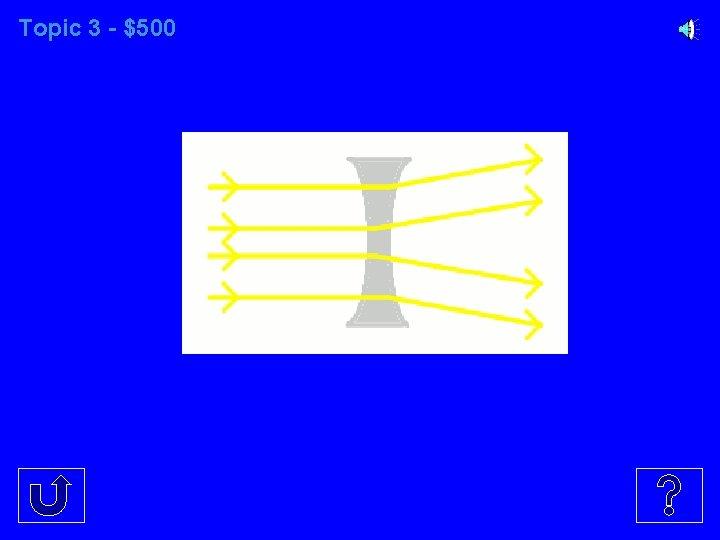 Topic 3 - $500