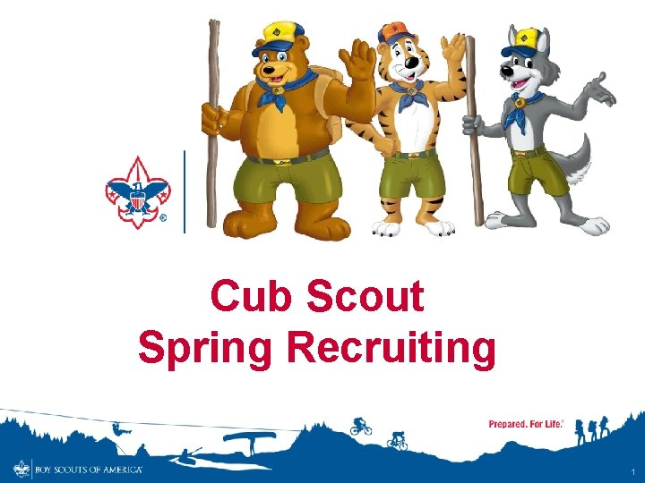 Cub Scout Spring Recruiting 1