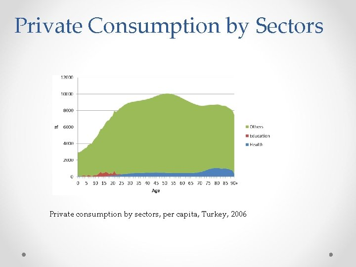 Private Consumption by Sectors Private consumption by sectors, per capita, Turkey, 2006