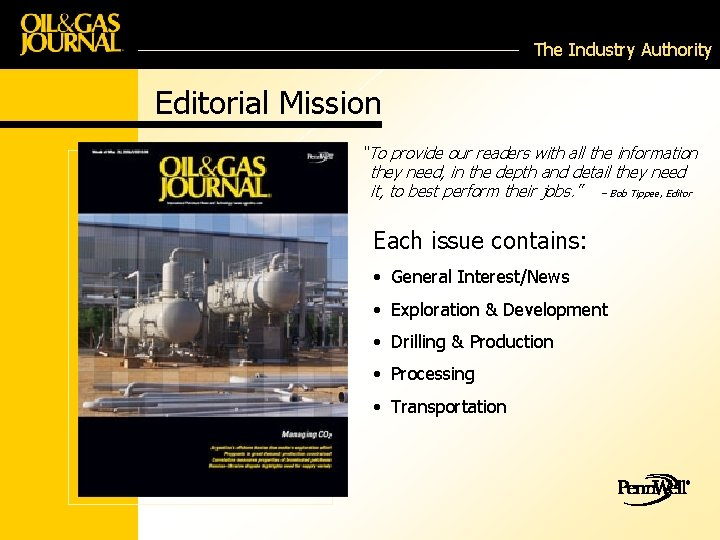 """The Industry Authority Editorial Mission """"To provide our readers with all the information they"""