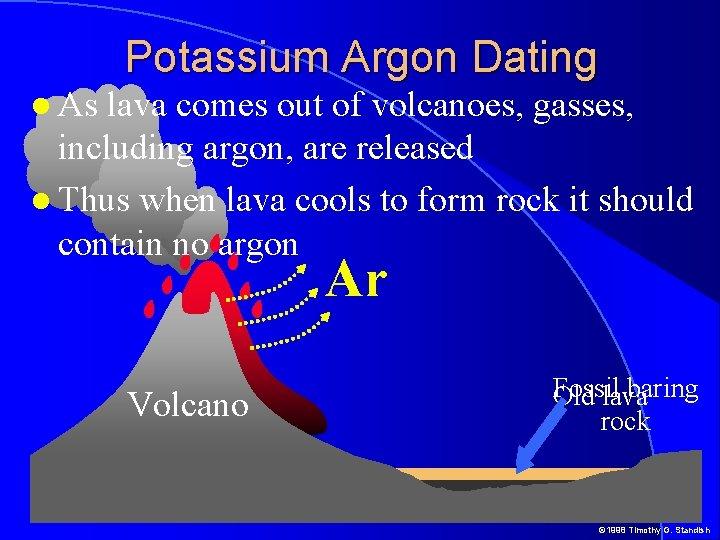 Potassium argon dating half life
