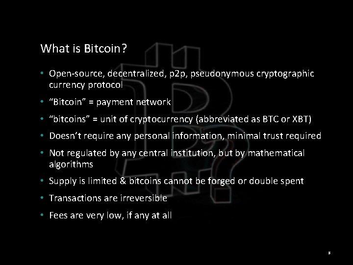 cum este bitcoin anonim