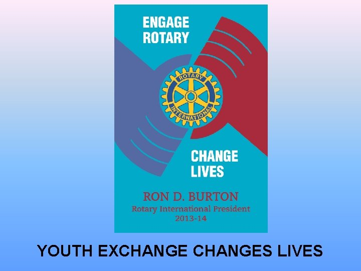YOUTH EXCHANGES LIVES