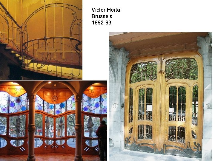 Victor Horta Brussels 1892 -93