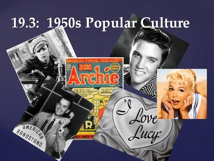 Culture 1950s teen 1950s Teenager