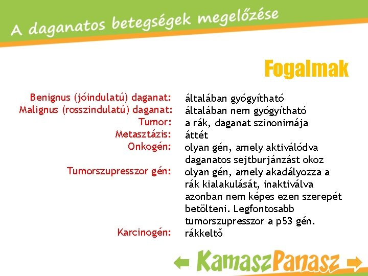 benignus daganat