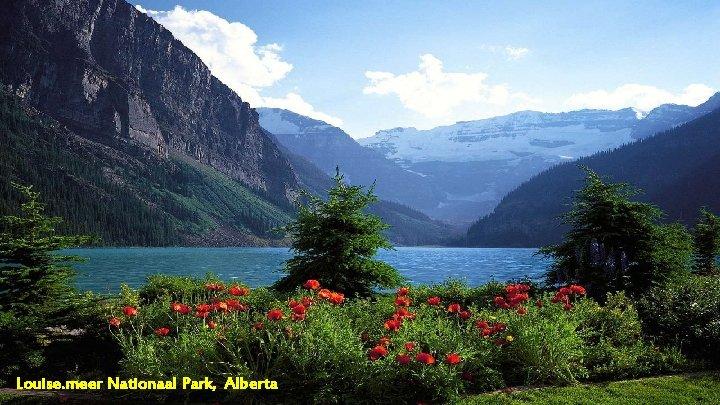 Louise. meer Nationaal Park, Alberta