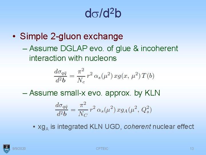 Evmp Nucleons Vs Nuclei An Update W A