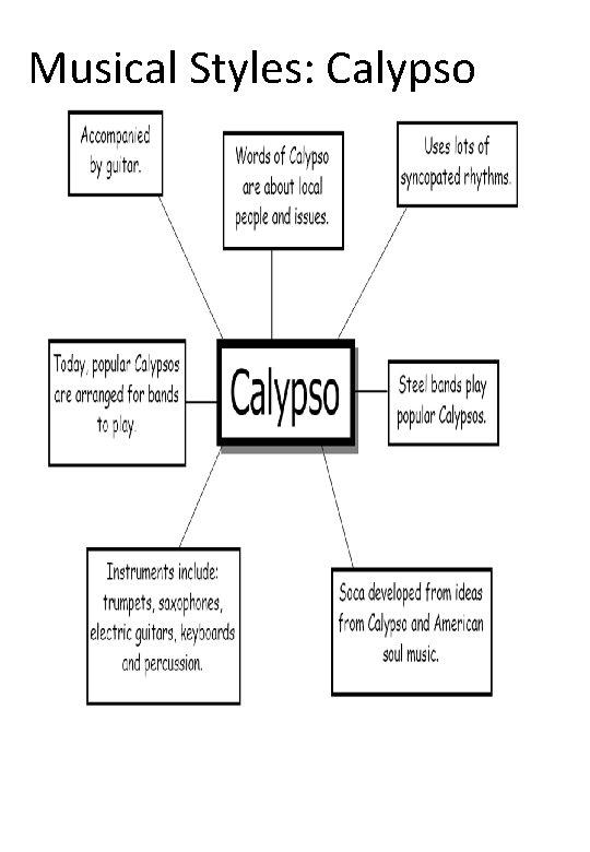 Musical Styles: Calypso