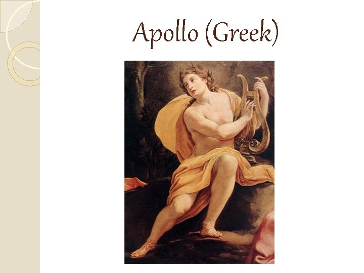 Apollo (Greek)