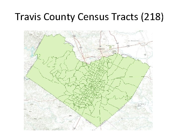 Travis County Census Tracts (218)