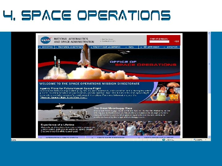 4. Space Operations