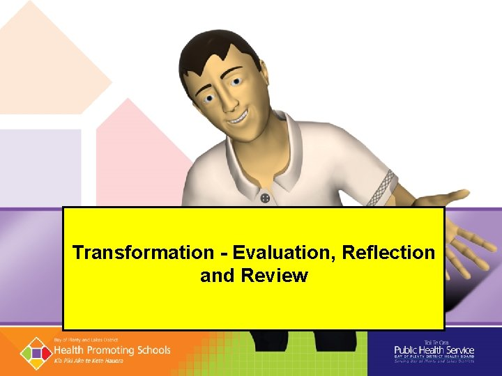 Transformation - Evaluation, Reflection and Review