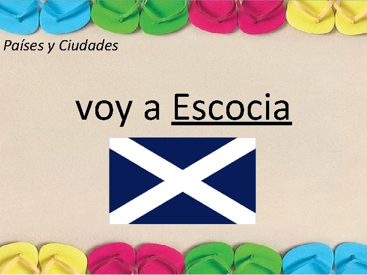 Países y Ciudades voy a Escocia