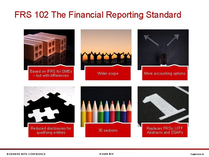 FRS 102 The Financial Reporting Standard Based on IFRS for SMEs – but with