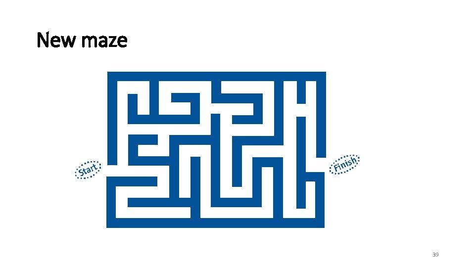 New maze 39