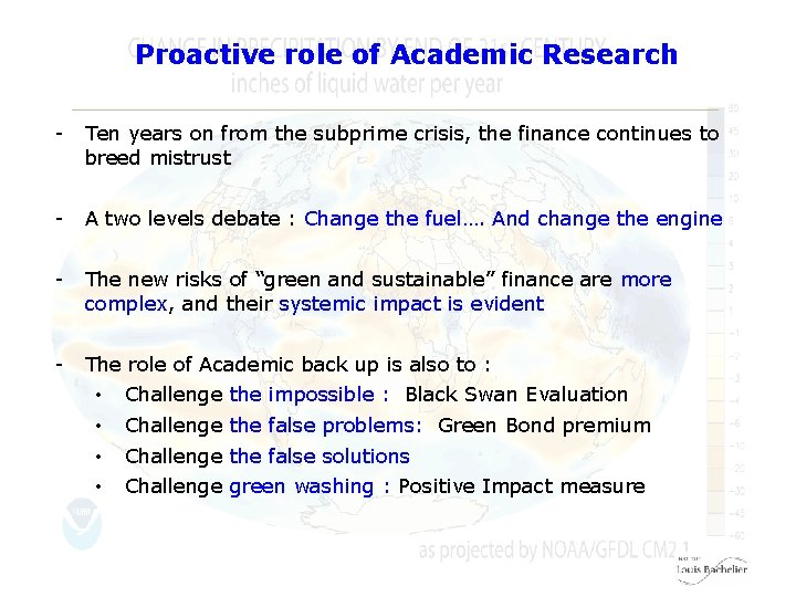 Proactive role of Academic Research - Ten years on from the subprime crisis, the