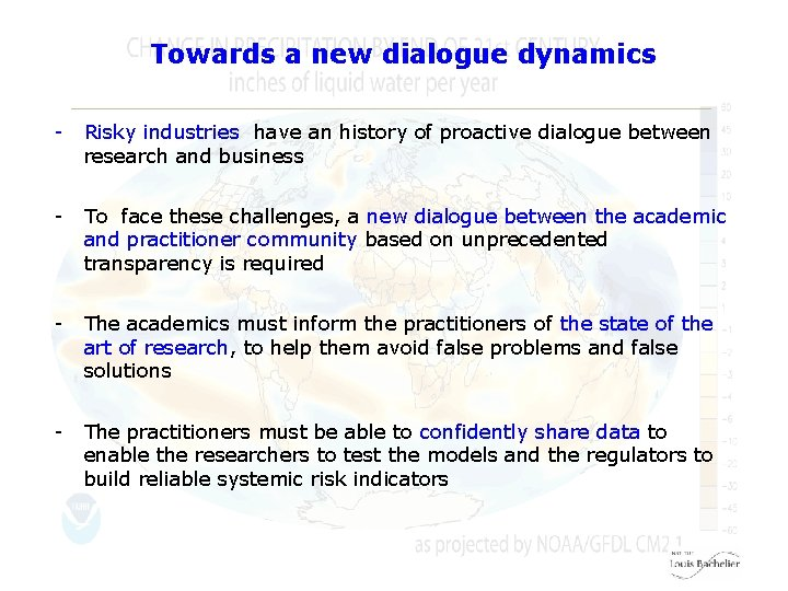 Towards a new dialogue dynamics - Risky industries have an history of proactive dialogue