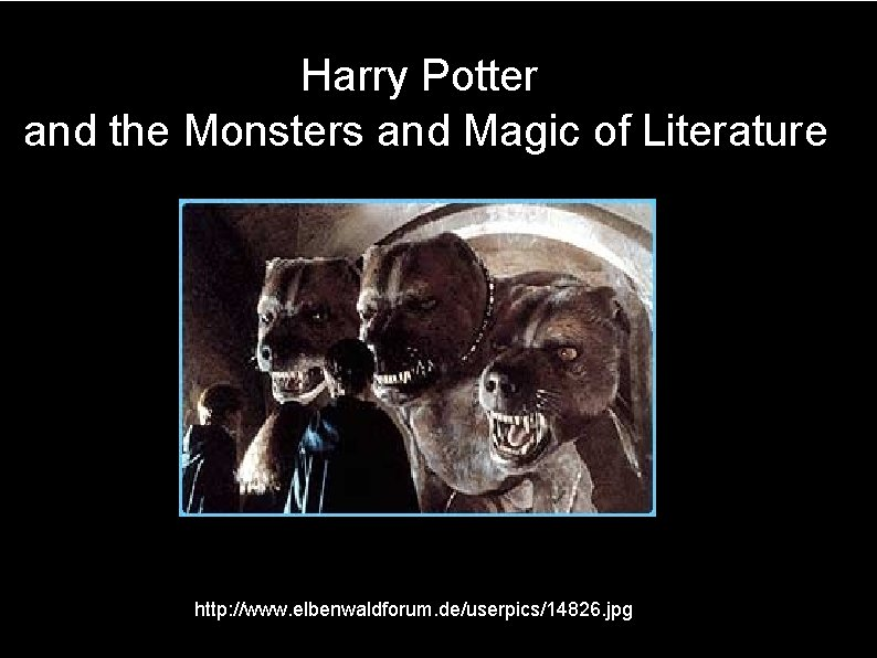 Harry Potter And The Monsters And Magic Of