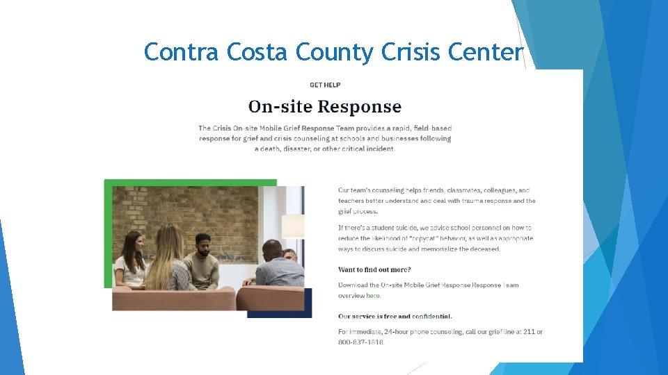 Contra Costa County Crisis Center