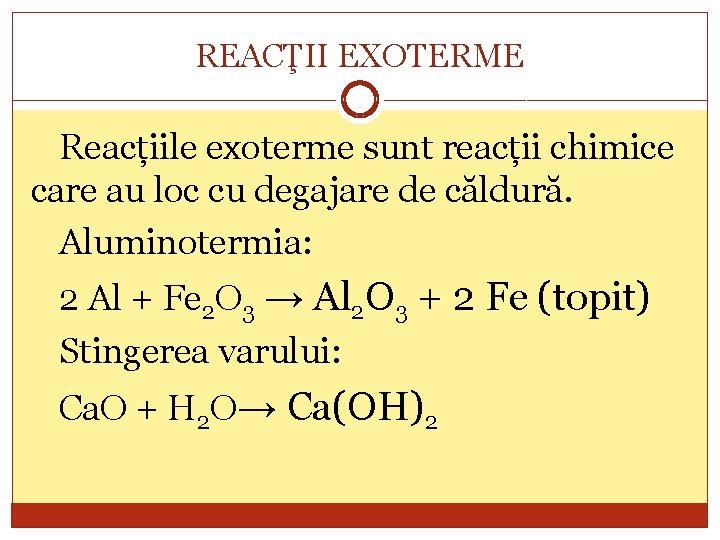 reacția chimică pentru arderea grăsimilor)