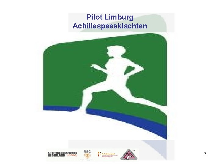 Pilot Limburg Achillespeesklachten 7