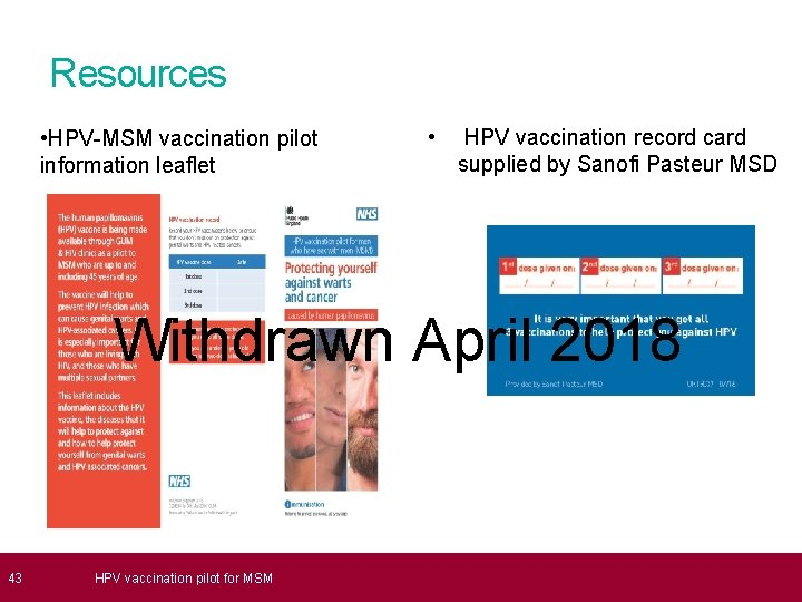 nhs hpv side effects)