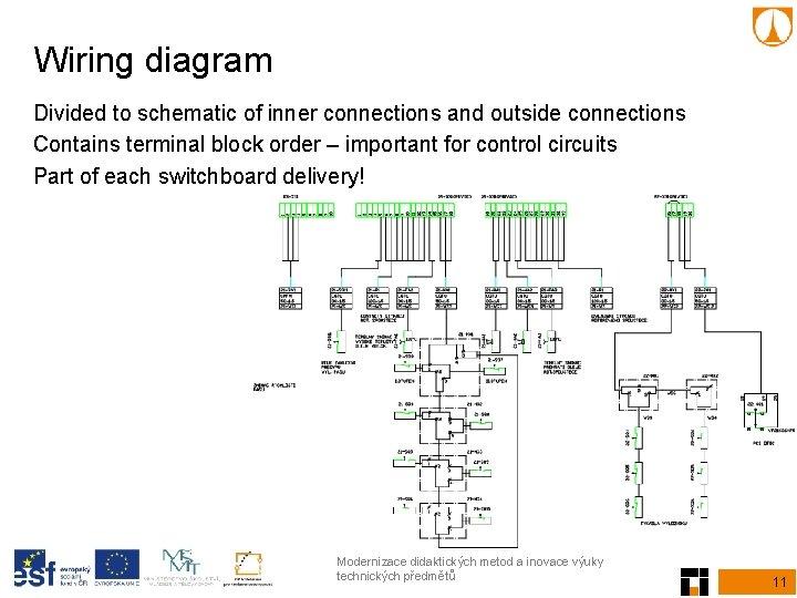 Electrical Equipment Manuals, Terminal Block Wiring Diagram