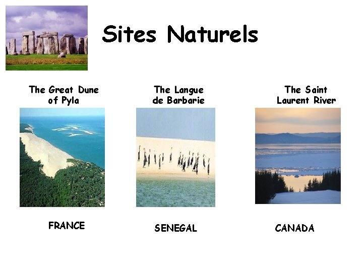 Sites Naturels The Great Dune of Pyla FRANCE The Langue de Barbarie The Saint