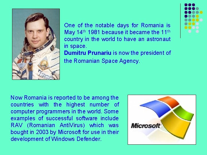 One of the notable days for Romania is May 14 th 1981 because it