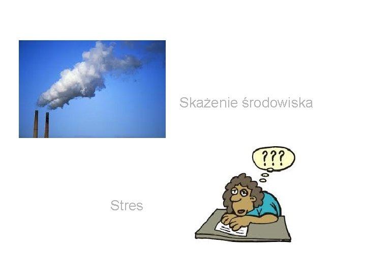 Skażenie środowiska Stres