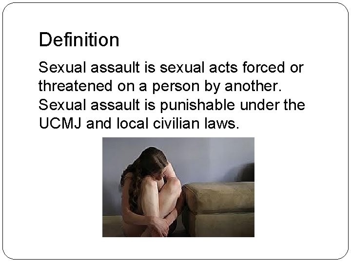 Sexual meaning