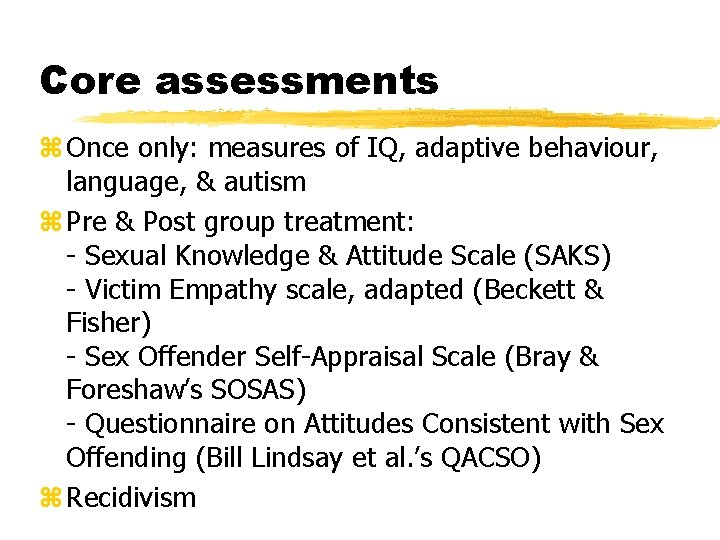 Sexual attitude and knowledge scale saks