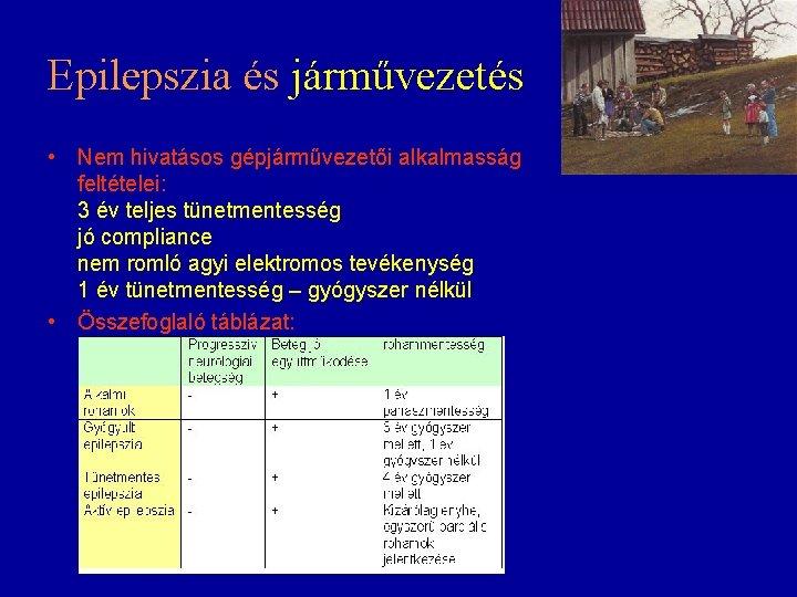 epilepsziában a látás teljes elvesztése