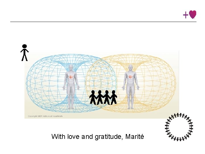 Insert slide #75 With love and gratitude, Marité Institute © 2016 Heart. Math Institute