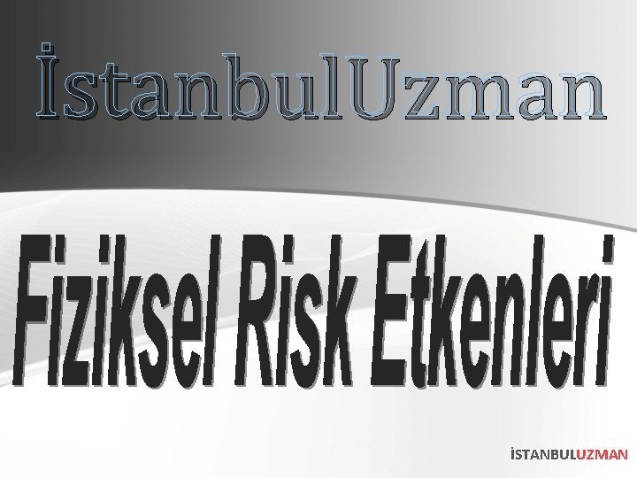İstanbul. Uzman İSTANBULUZMAN
