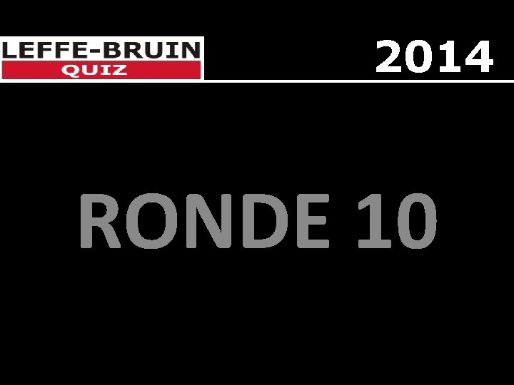 2014 RONDE 10