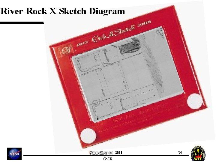 River Rock X Sketch Diagram 2011 Co. DR 34