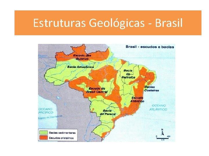 Estruturas Geológicas - Brasil