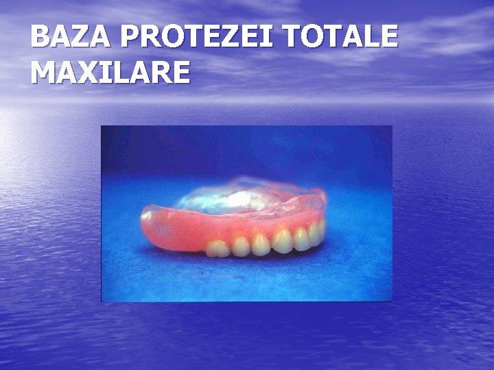 Proteză completă pentru maxilarul superior »Aceste costuri sunt de așteptat