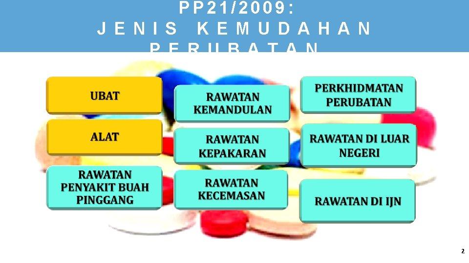 PP 21/2009: J E N I S K E M U D A H