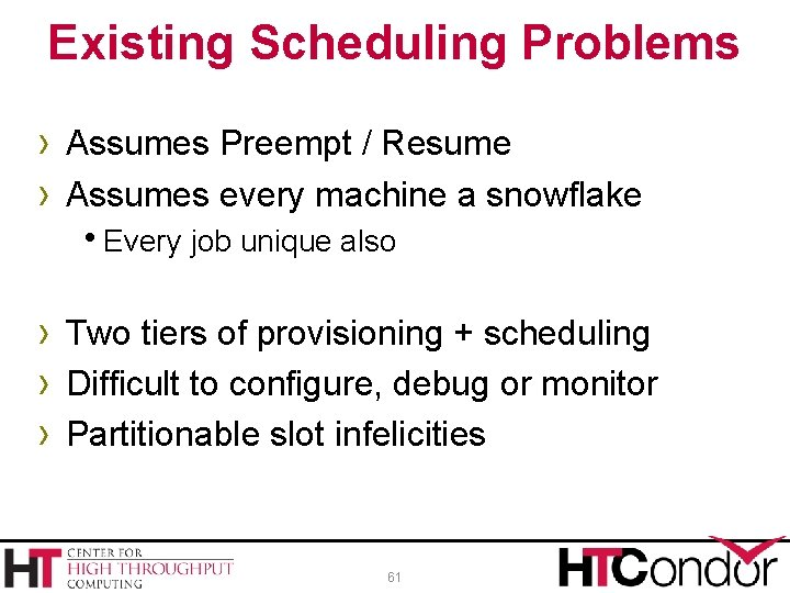 Existing Scheduling Problems › Assumes Preempt / Resume › Assumes every machine a snowflake