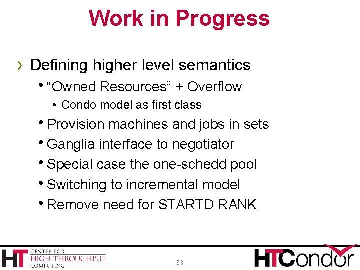 "Work in Progress › Defining higher level semantics h""Owned Resources"" + Overflow • Condo"