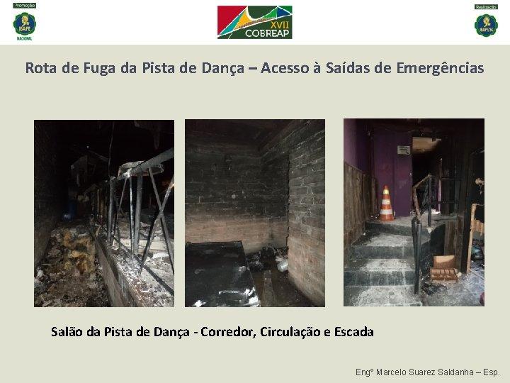 Rota de Fuga da Pista de Dança – Acesso à Saídas de Emergências Salão