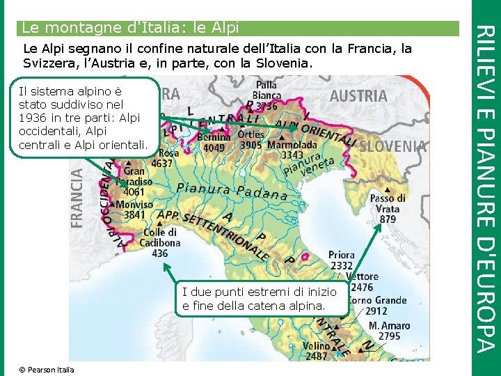 Cartina Dell Italia Alpi E Appennini.1 Leuropa E Litalia Confini Coste Rilievi E