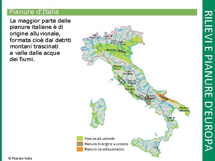 Cartina Italia Pianure.1 Leuropa E Litalia Confini Coste Rilievi E