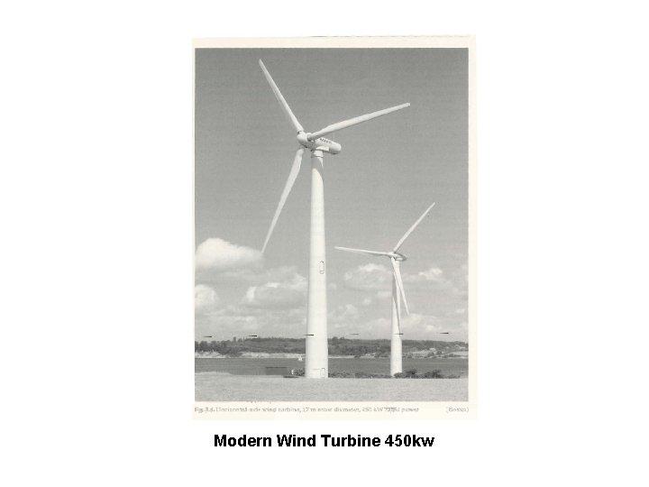 Modern Wind Turbine 450 kw