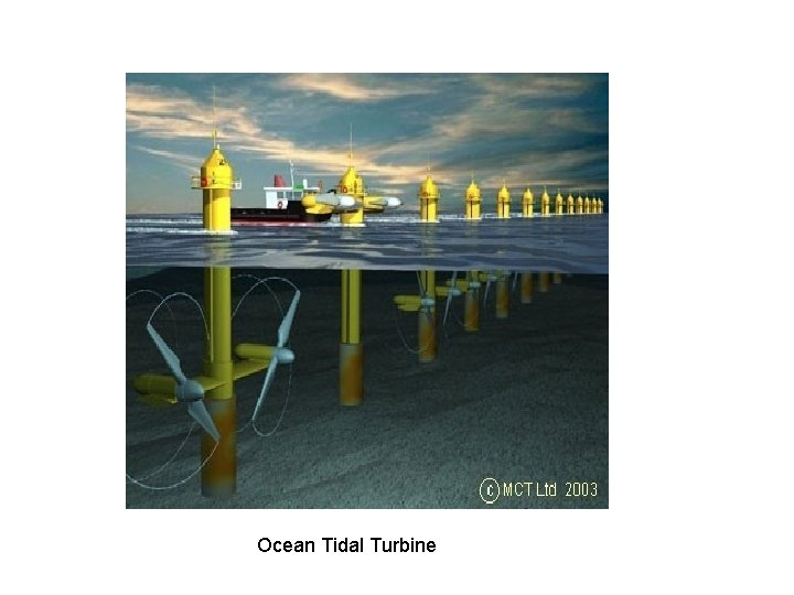 Ocean Tidal Turbine